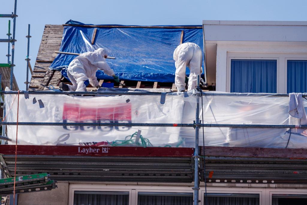 Asbest verwijderen op dak
