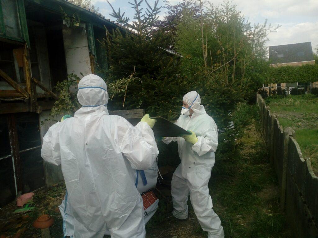 Asbest regenwater